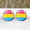 Thumbnail: Pride Pansexual Earrings