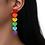 Thumbnail: Pride Long Heart Earrings