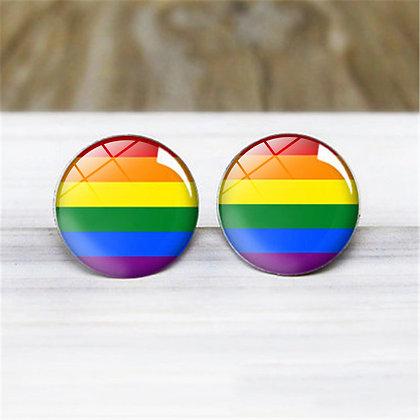 Pride Rainbow Earrings