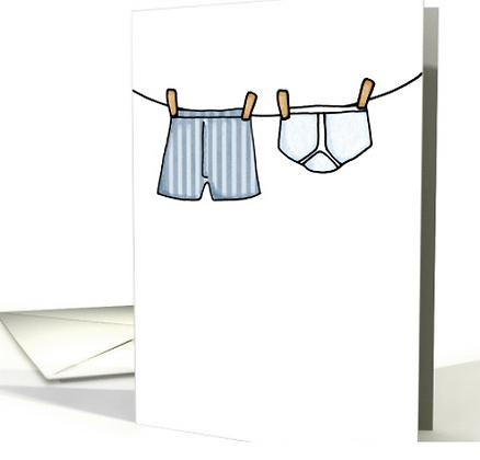Card - Civil Union Invites - Pack of 5 (Undies)