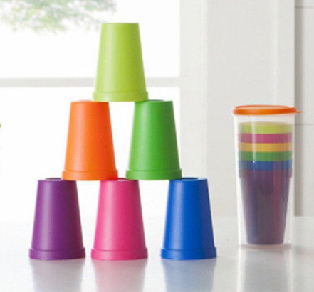 Rainbow Picnic & Party Cup Set