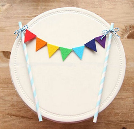 Pride Cake Bunting