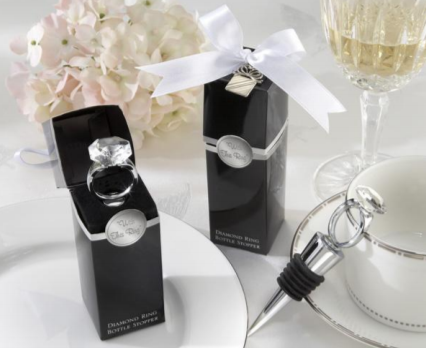 Wine Stopper - with this ring