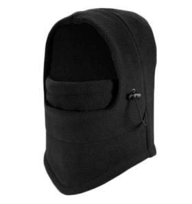 Winter Fleece Balaclava (Black)