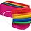 Thumbnail: Rainbow 3-ply Face Mask (Pkt of 5)