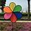 Thumbnail: Rainbow Outdoor Daisy Windmill