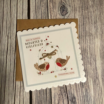 For my daughter & her girlfriend (Christmas Card)