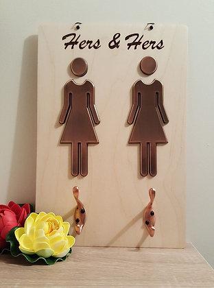 Coat Rack - Hers & Hers