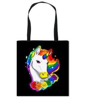Pride Unicorn Canvas Bag