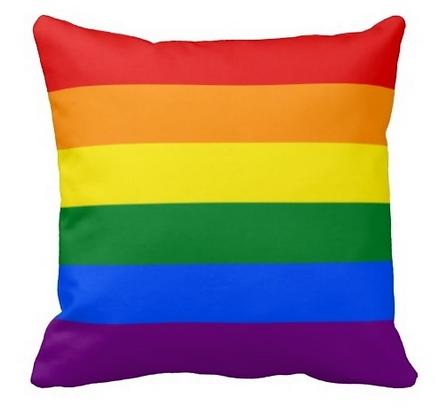Pride Rainbow Cushion Cover