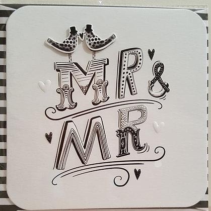 Card - Mr & Mr Wedding
