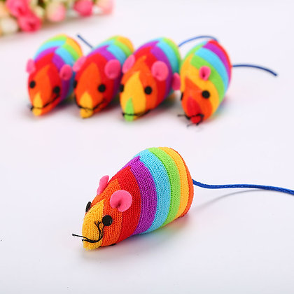 Rainbow Pet Mouse (Pkt of 2)
