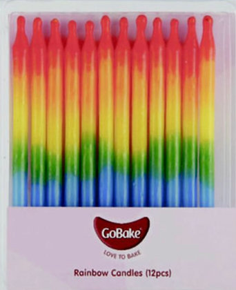 Pride Birthday Candles