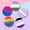Thumbnail: Transgender Round Button Badge