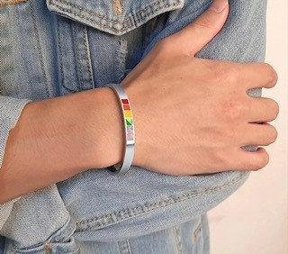 Pride Stainless Steel Bracelet