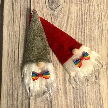 Bill & Bob Pride Christmas Gnomes