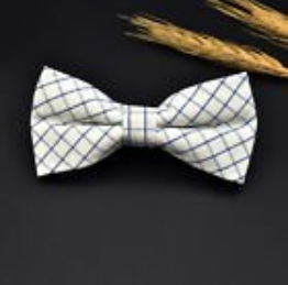 Bowtie - Checkers Range - Black/White
