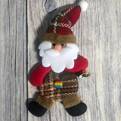 Santa Pride Ornament