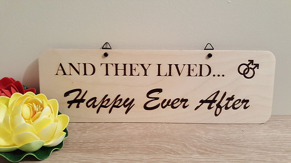 Sign - Gay - Happily Ever After