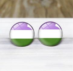 Pride Genderqueer Earrings