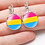 Thumbnail: Asexual Glass Drop Earrings