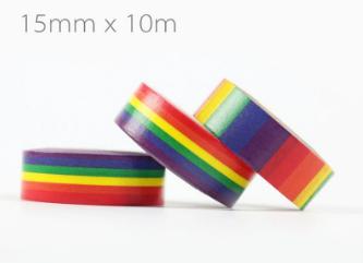 Rainbow Washi Masking Tape