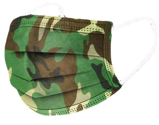 Army Medical Face Mask (Pkt of 5)