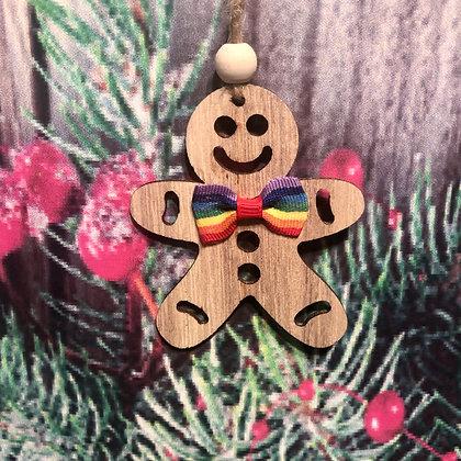 Christmas Pride Gingerbread Men