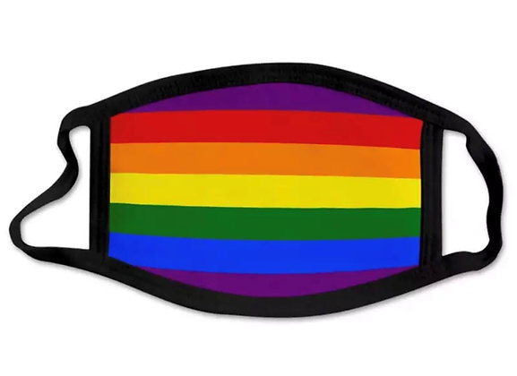 Pride Childs Striped Face Mask