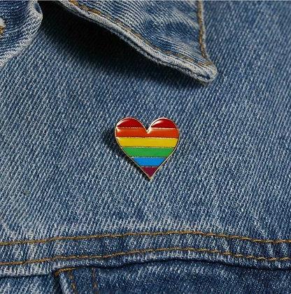 Pride Heart Badge