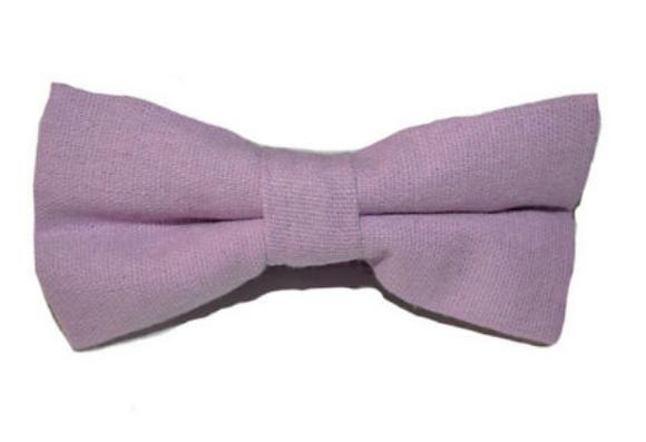 Bowtie - Linen Lilac