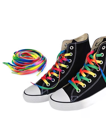 Rainbow Shoe Laces (1pair)