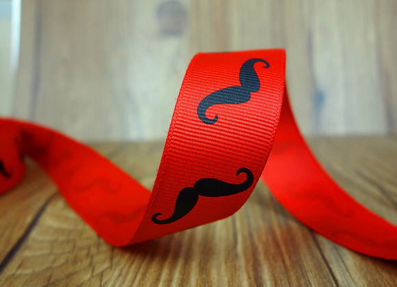 Ribbon - Red Moustache