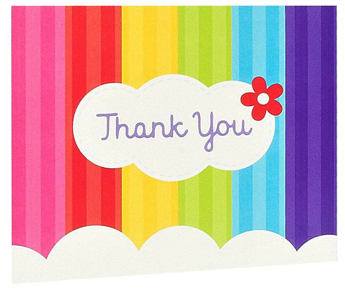 Pride Thank you Cards