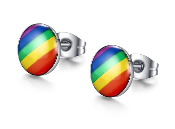 Pride Earrings (round)