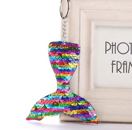 Pride Mermaid Key Ring