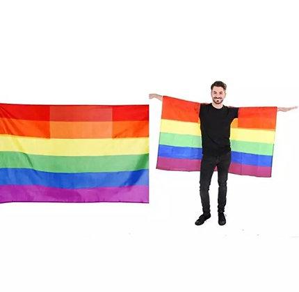 Pride Human Flag Cape