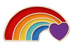 Pride Rainbow Badge