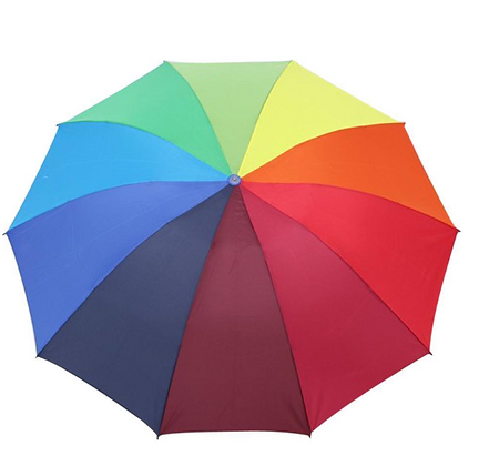 Unisex Rainbow Umbrella