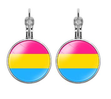 Pansexual Earrings