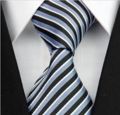 Tie - Silk Collection - Blue Stripe