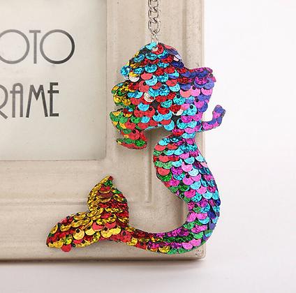 Pride Full Mermaid Key Ring