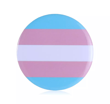 Transgender Round Button Badge