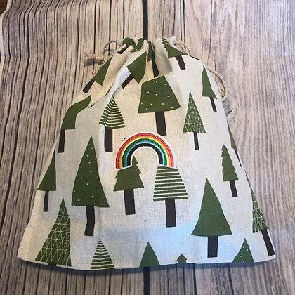 Pride Christmas Tree Gift Bag (Lge)