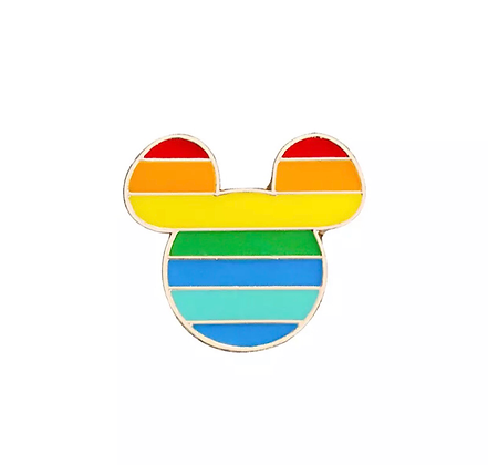 Pride Mickey Mouse Badge