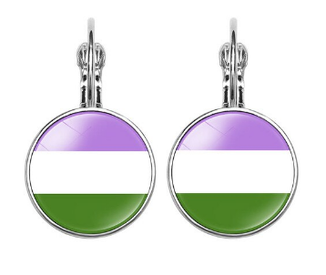 Genderqueer Earrings