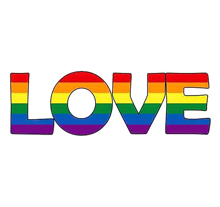 Pride LOVE Decal