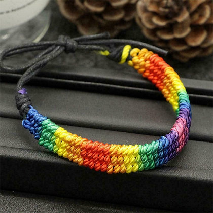 Pride Woven Bracelet