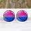 Thumbnail: Pride Bisexual Earrings