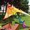 Thumbnail: Rainbow Outdoor Wind Decoration (Large)